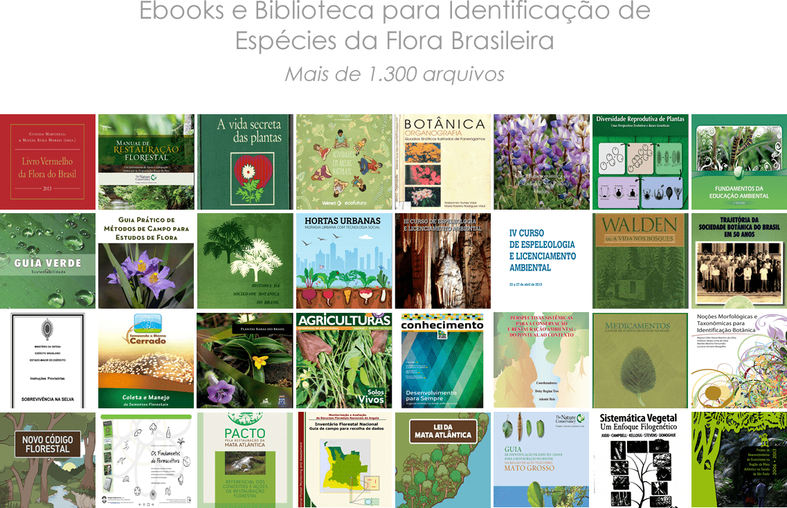 eBooks no Portal eFlora